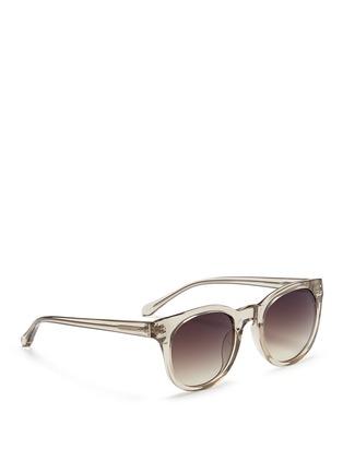 Figure View - Click To Enlarge - Linda Farrow - Acetate D-frame sunglasses