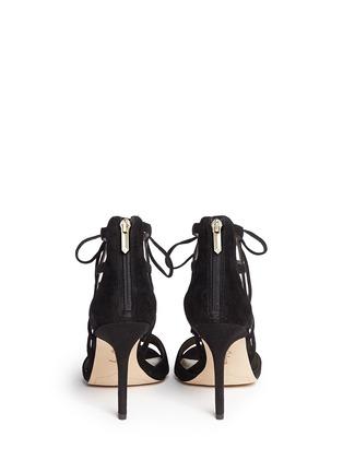 Back View - Click To Enlarge - Sam Edelman - 'Azela' tassel suede sandals