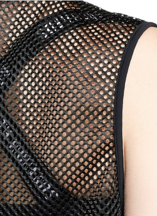 Detail View - Click To Enlarge - Beth Richards - 'Pilar' mesh cover-up dress