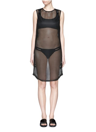 Main View - Click To Enlarge - Beth Richards - 'Pilar' mesh cover-up dress