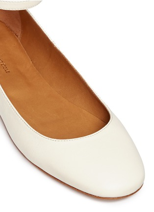 Detail View - Click To Enlarge - Isabel Marant Étoile - 'Lili' ankle strap leather flats
