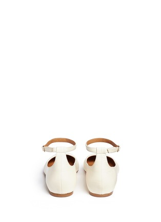 Back View - Click To Enlarge - Isabel Marant Étoile - 'Lili' ankle strap leather flats