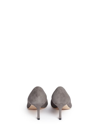 Back View - Click To Enlarge - JIMMY CHOO - 'Romy' suede pumps