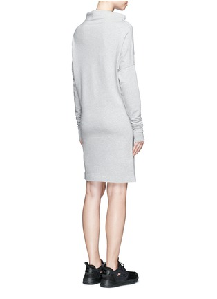 Back View - Click To Enlarge - Norma Kamali - 'All In One' convertible cotton jersey dress