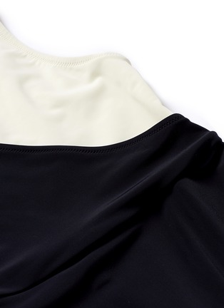Detail View - Click To Enlarge - Solid & Striped - 'The Ballerina' colourblock one-piece swimsuit
