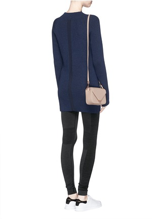 Figure View - Click To Enlarge - LNDR - 'Finn' wool-cashmere rib knit sweater