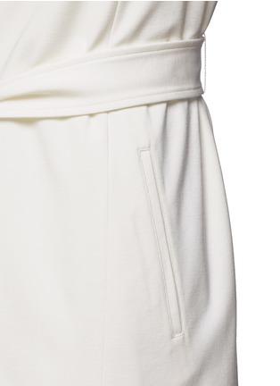 Detail View - Click To Enlarge - Vince - Ponte knit side slit long vest