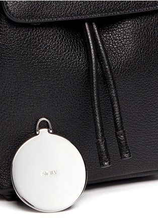 Detail View - Click To Enlarge - Dolce & Gabbana - 'Miss Sicily' small grainy leather backpack