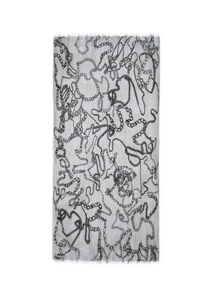 Main View - Click To Enlarge - Faliero Sarti - 'Chain' print virgin wool-modal-silk scarf
