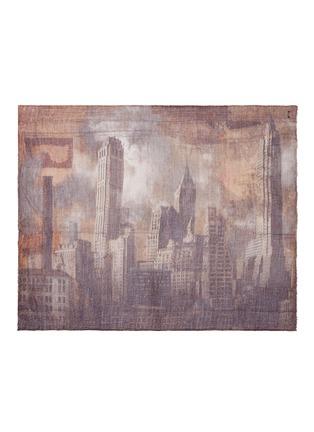 Main View - Click To Enlarge - Faliero Sarti - 'Sky' print virgin wool blend scarf