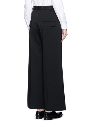 Back View - Click To Enlarge - Neil Barrett - Virgin wool blend twill slouch fit pants