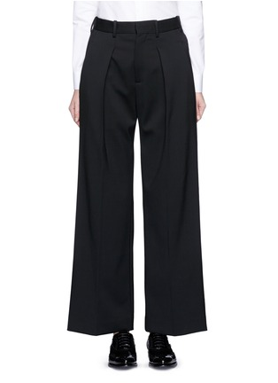Main View - Click To Enlarge - Neil Barrett - Virgin wool blend twill slouch fit pants