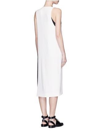 Back View - Click To Enlarge - Acne Studios - 'Glenna' side split sleeveless long top