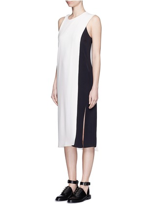Front View - Click To Enlarge - ACNE STUDIOS - 'Glenna' side split sleeveless long top