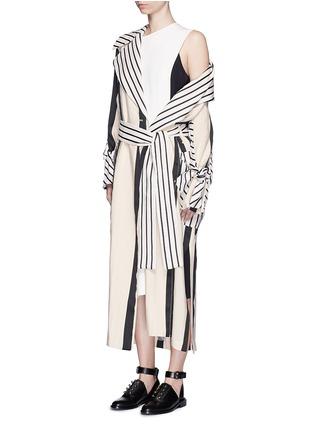 Figure View - Click To Enlarge - Acne Studios - 'Glenna' side split sleeveless long top
