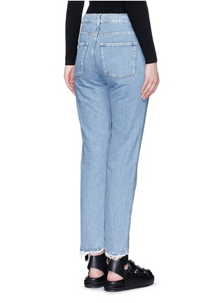 Back View - Click To Enlarge - Acne Studios - 'Boy Indigo Fray' jeans