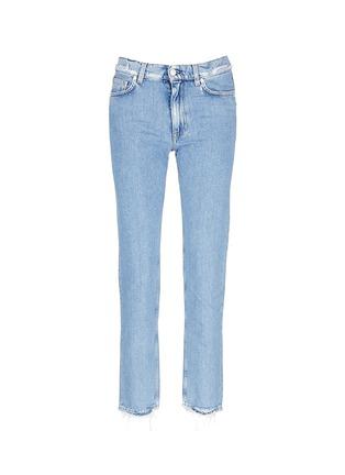 Main View - Click To Enlarge - Acne Studios - 'Boy Indigo Fray' jeans