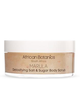 Main View - Click To Enlarge - AFRICAN BOTANICS - MARULA Detoxifying Salt & Sugar Body Scrub 200ml