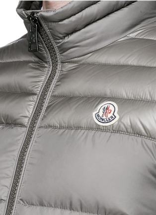 Detail View - Click To Enlarge - Moncler - 'Dupres' quilted down vest