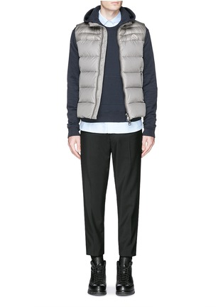Figure View - Click To Enlarge - Moncler - 'Dupres' quilted down vest