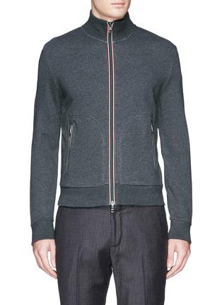 Main View - Click To Enlarge - Moncler - Signature trim cotton jacket