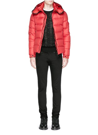 Figure View - Click To Enlarge - Moncler - 'Hymalay' quilted hood down jacket