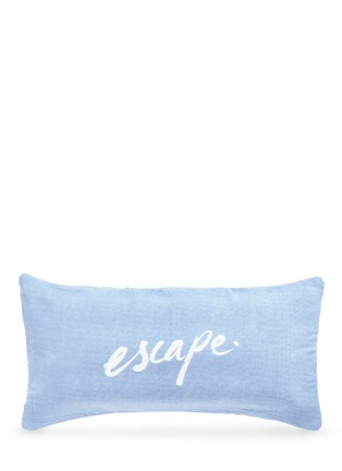Figure View - Click To Enlarge - The Beach People - 'Escape' inflatable insert polka dot print beach cushion