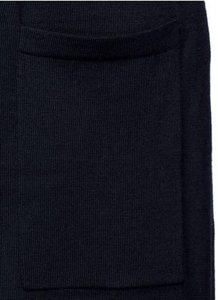 Detail View - Click To Enlarge - Theory - 'Torina SL' long wool cardigan