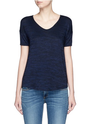 Main View - Click To Enlarge - rag & bone/JEAN - 'Melrose Femme' V-neck T-shirt