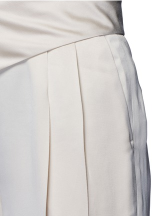 Detail View - Click To Enlarge - LANVIN - Techno twill suspender pants