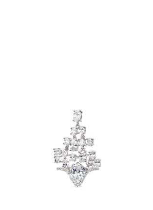 Main View - Click To Enlarge - CZ by Kenneth Jay Lane - Cubic zirconia free-swing ring