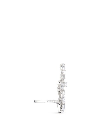 Figure View - Click To Enlarge - CZ by Kenneth Jay Lane - Cubic zirconia free-swing ring