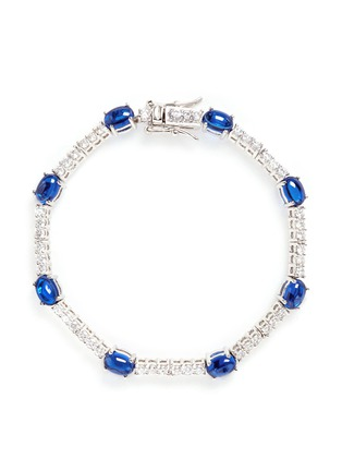 Main View - Click To Enlarge - CZ by Kenneth Jay Lane - Cubic zirconia cabochon bracelet