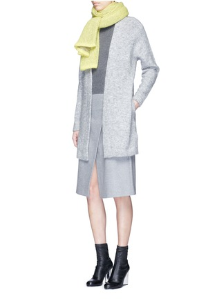 Figure View - Click To Enlarge - Acne Studios - 'Raya' mohair blend cardigan
