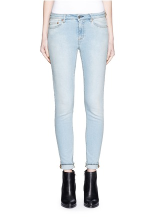 Detail View - Click To Enlarge - Acne Studios - 'Skin 5' stretch cotton skinny jeans
