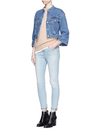 Figure View - Click To Enlarge - Acne Studios - 'Skin 5' stretch cotton skinny jeans
