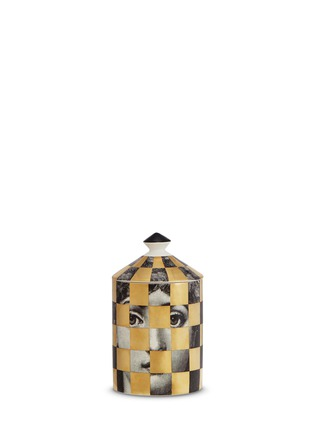 Main View - Click To Enlarge - Fornasetti - Schacchi Oro scented candle 300g