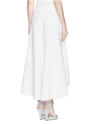 Back View - Click To Enlarge - Ellery - 'Nomadic' bonded bouclé high waist skirt