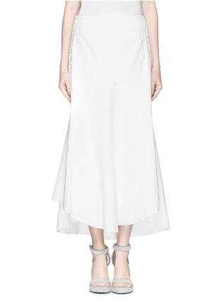 Main View - Click To Enlarge - ELLERY - 'Nomadic' bonded bouclé high waist skirt