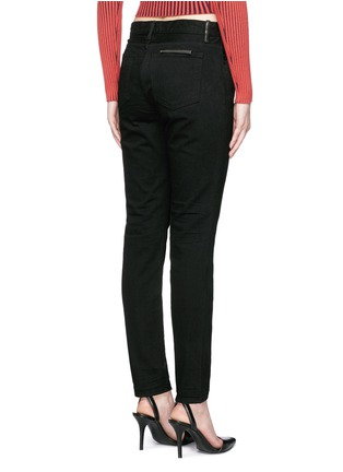 Back View - Click To Enlarge - T By Alexander Wang - 'WANG 002' relaxed jeans