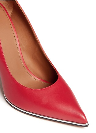 Detail View - Click To Enlarge - GIVENCHY - Calfskin leather pumps
