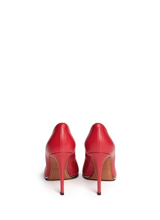 Back View - Click To Enlarge - GIVENCHY - Calfskin leather pumps