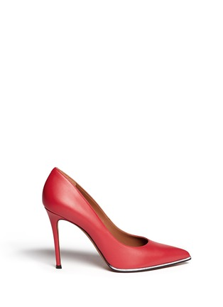 Main View - Click To Enlarge - GIVENCHY - Calfskin leather pumps