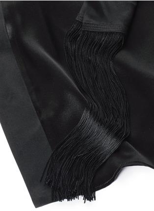 Detail View - Click To Enlarge - Kiki De Montparnasse - 'Amour' silk kimono robe