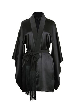 Main View - Click To Enlarge - Kiki De Montparnasse - 'Amour' silk kimono robe