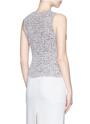 Back View - Click To Enlarge - Theory - 'Malda' chunky knit sleeveless sweater