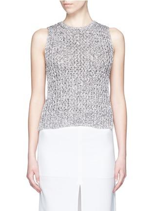 Main View - Click To Enlarge - Theory - 'Malda' chunky knit sleeveless sweater