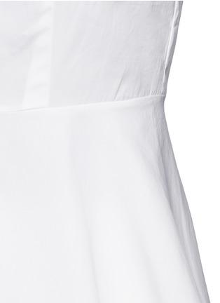 Detail View - Click To Enlarge - Theory - 'Eyodis' peplum hem cotton poplin shirt