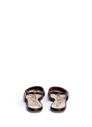 Back View - Click To Enlarge - Sam Edelman - 'Hadley' slingback leather flats