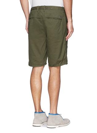 Back View - Click To Enlarge - Scotch & Soda - Pima cotton chino shorts